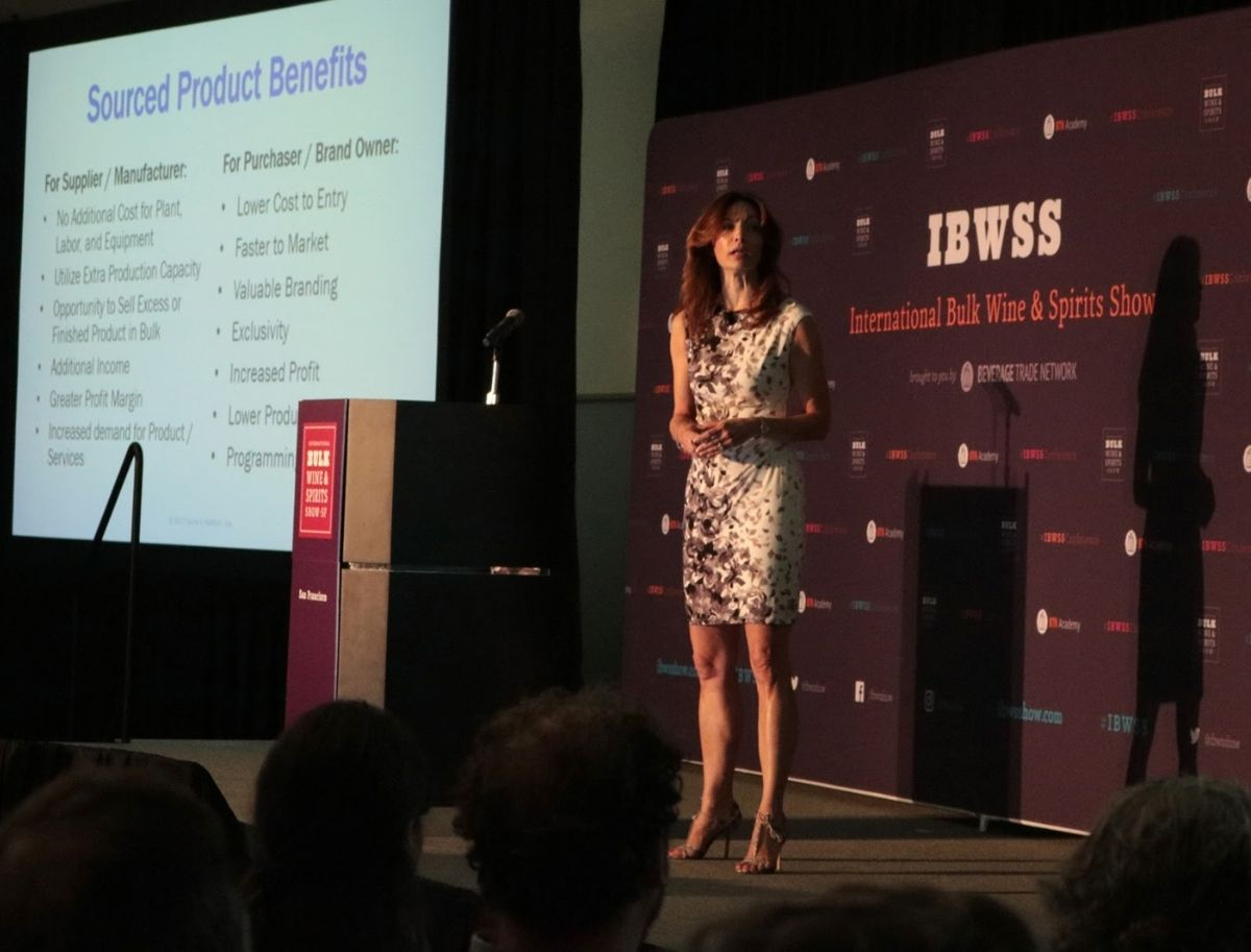 Sourced Product Benefits presentation at previous IBWSS event