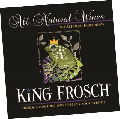 Logo for:  King Frosch All Natural Wines